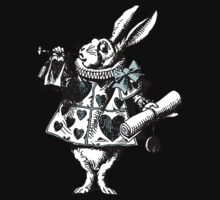 Alice In Wonderland White Rabbit by Pixelchicken