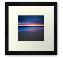 Abstract Sunset Seascape Framed Print