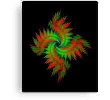 Spiral Wreath Canvas Print