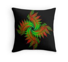 Spiral Wreath Throw Pillow