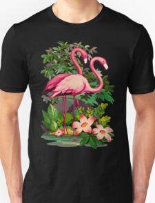 Retro Pink Flamingos T-Shirt