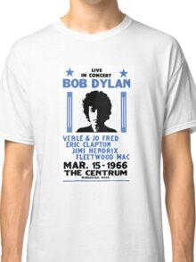 Bob Dylan Concert 2 Classic T-Shirt