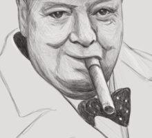 Mr. Churchill Sticker