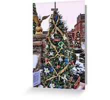 Trees on Display 4 Greeting Card