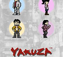 Pixelated Yakuza by Deekman
