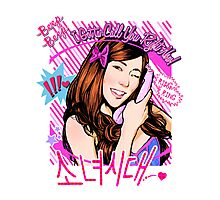 SNSD Tiffany Beep Beep design Photographic Print