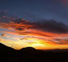 Arizona Sunset by Onna Jeanna Voellmer
