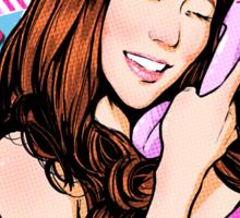SNSD Tiffany Beep Beep design Sticker