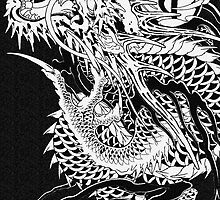 Yakuza - Kiryu's Dragon by Deekman
