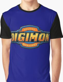 Digimon Graphic T-Shirt