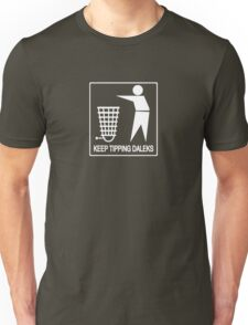 Keep Britain Tidy, Safe and Free Of Genocidal Aliens (White) Unisex T-Shirt