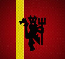 Manchester Devil - Football / Futbol / Soccer iPhone Cover by Karma Designs