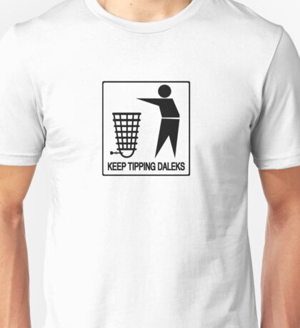 Keep Britain Tidy, Safe and Free Of Genocidal Aliens (Black) Unisex T-Shirt