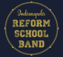 Reform School Band - Indianapolis by Hawthorn Mineart