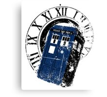 Doctor Who Tardis in Space T-shirt Canvas Print