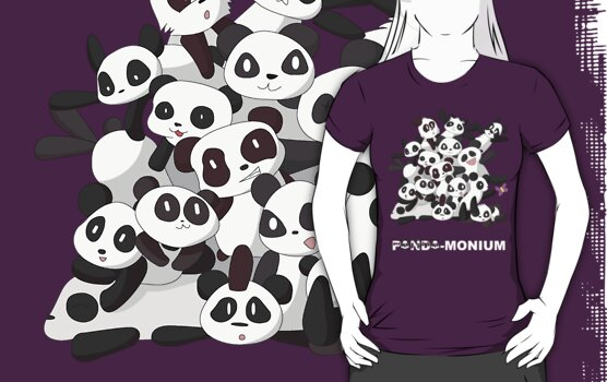 PANDA-monium by RebeccaMcGoran