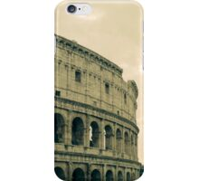 Green Colosseum iPhone Case/Skin