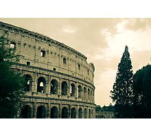 Green Colosseum Photographic Print