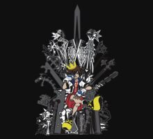 Kingdom Hearts: Game of Hearts Color by NITEMARECHILD