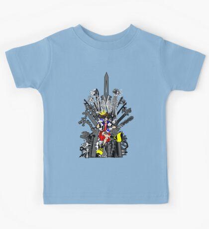 Kingdom Hearts: Game of Hearts Color Kids Tee