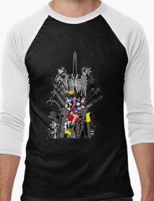 Kingdom Hearts: Game of Hearts Color Men's Baseball ¾ T-Shirt