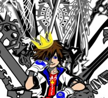 Kingdom Hearts: Game of Hearts Color Sticker