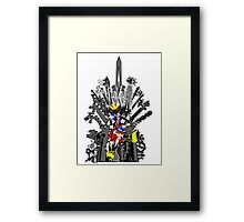 Kingdom Hearts: Game of Hearts Color Framed Print