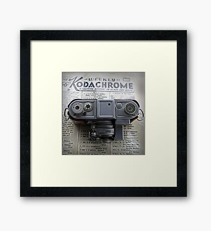 Kodachrome Weekly Framed Print