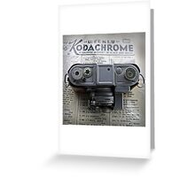 Kodachrome Weekly Greeting Card