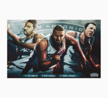 San Antonio Spurs Big Three by theguyontheleft