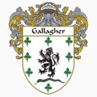 Gallagher Coat of Arms/Family Crest by William Martin