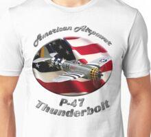 P-47 Thunderbolt American Airpower Unisex T-Shirt