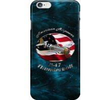 P-47 Thunderbolt American Airpower iPhone Case/Skin