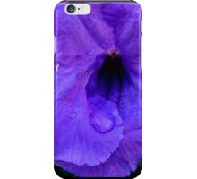 Indigo Swirl (case) iPhone Case/Skin