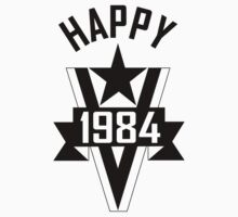 Happy 1984 by electricoo
