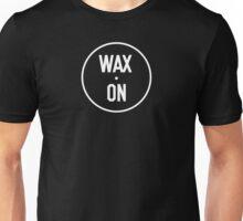 Wax On Logo White Unisex T-Shirt