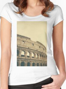 Coliseum Women's Fitted Scoop T-Shirt