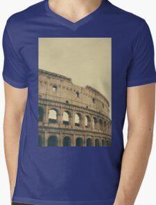Coliseum Mens V-Neck T-Shirt