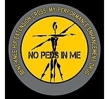 Bent-Knee Hip Extension Cross - My Performance Enhancement Drug Photographic Print