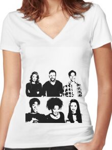 Community Things Women's Fitted V-Neck T-Shirt