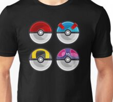 Pokemon Poké Balls Unisex T-Shirt