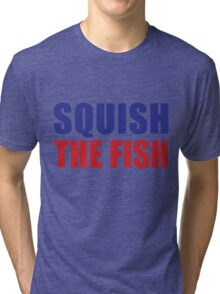 Buffalo Bills - Squish The Fish Tri-blend T-Shirt