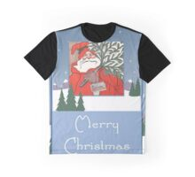 A Traditional Merry Christmas Greeting Graphic T-Shirt