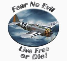 P-47 Thunderbolt Fear No Evil by hotcarshirts