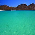 wineglass bay, the hazards. tasmania, australia by tim buckley | bodhiimages