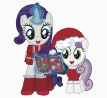 My Little Carol (Rarity and Sweetie Belle) by Taripony