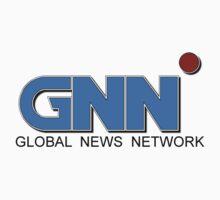 Anchorman 2 - GNN - Ron Burgundy Baby Tee