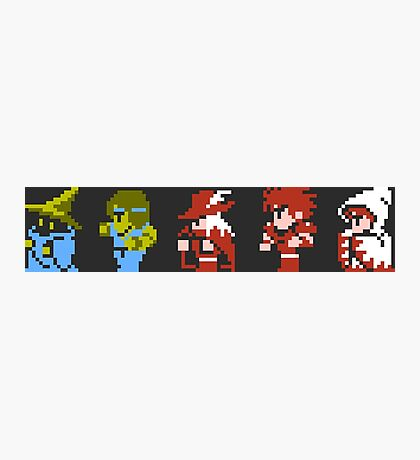 Final Fantasy - Team up Photographic Print