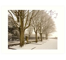 Happy Christmas From The Maiden City Art Print