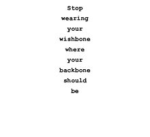 Wishbone Quote by AmyTherese
